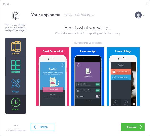 DaVinci Apps – App Store Screenshots, App Store Screenshot
