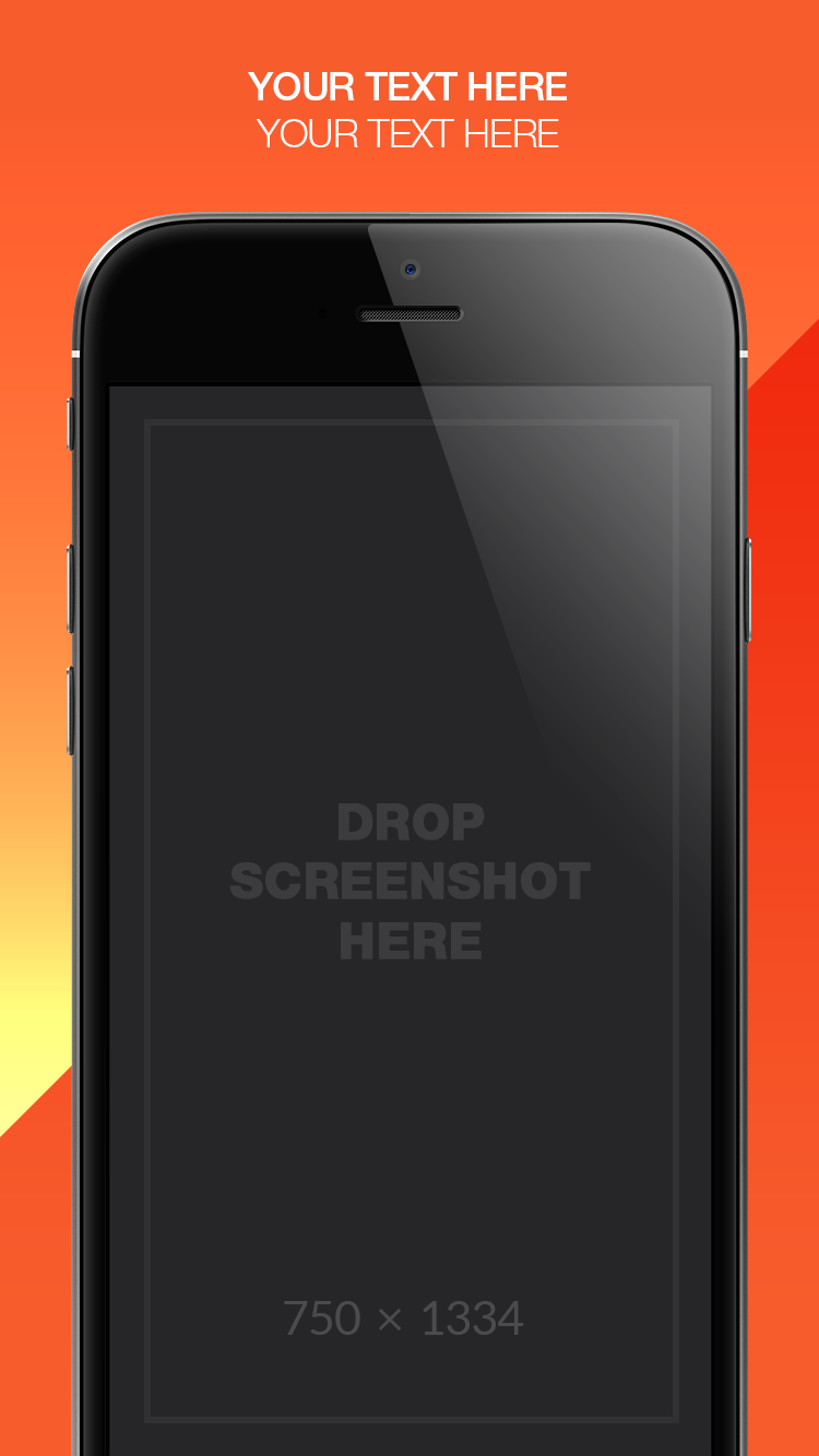 App Store Screenshots Template – Dualism