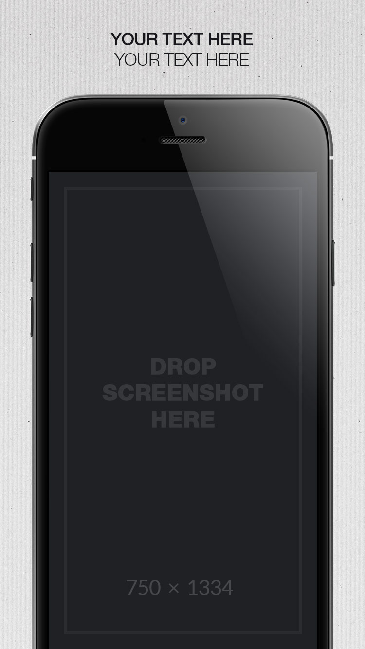 App Store Screenshots Template – Paper