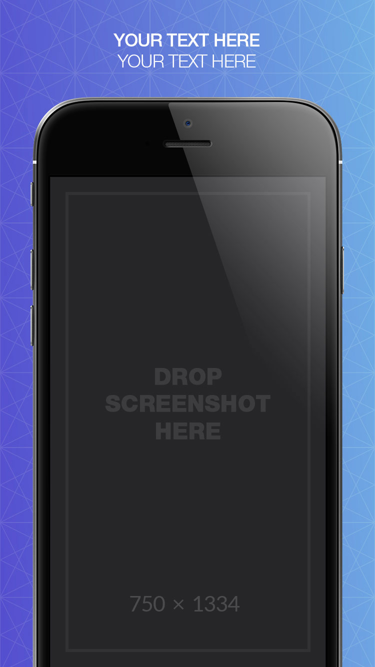 App Store Screenshots Template – Shapes