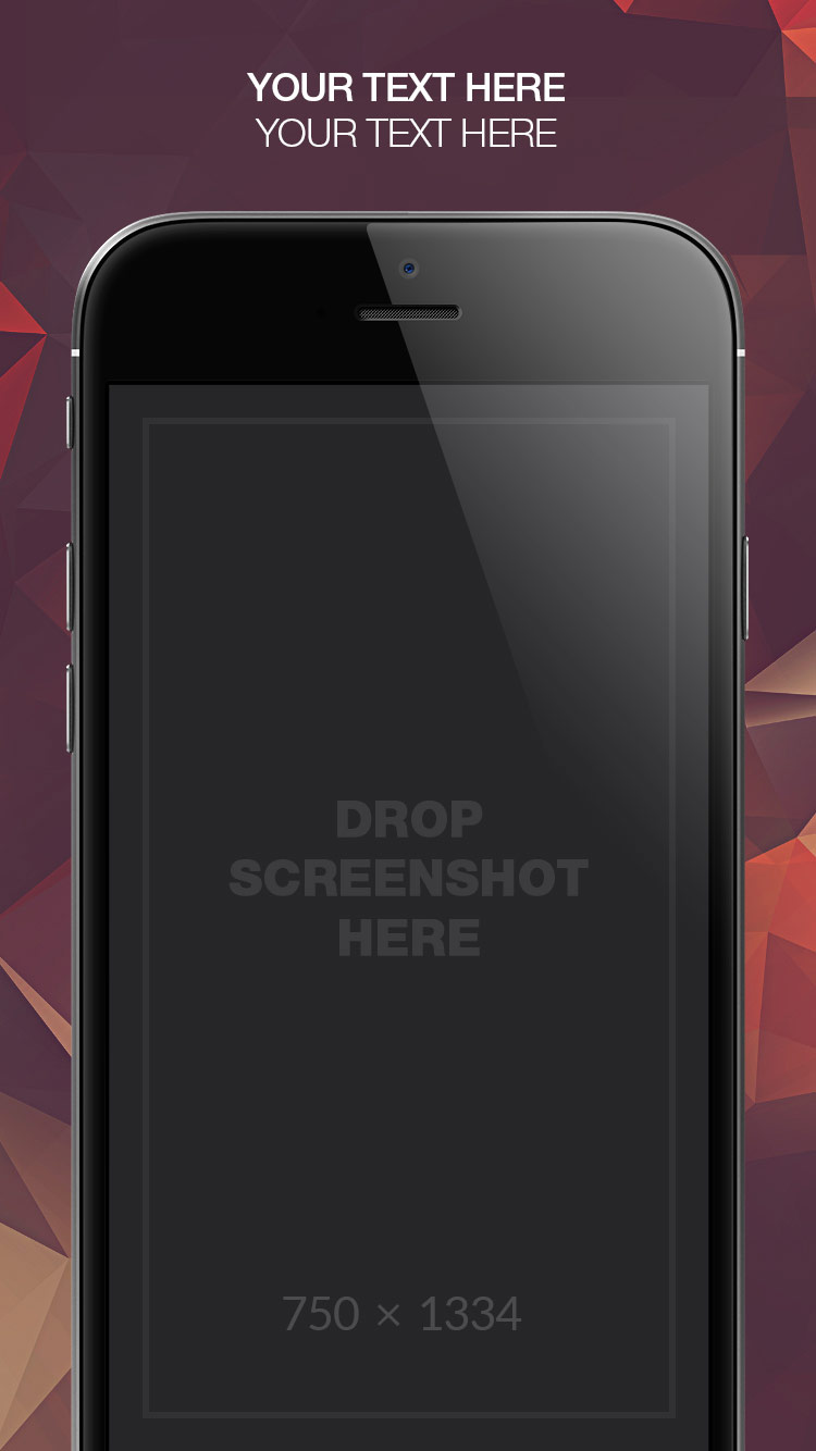 App Store Screenshots Template – Shapes Pro